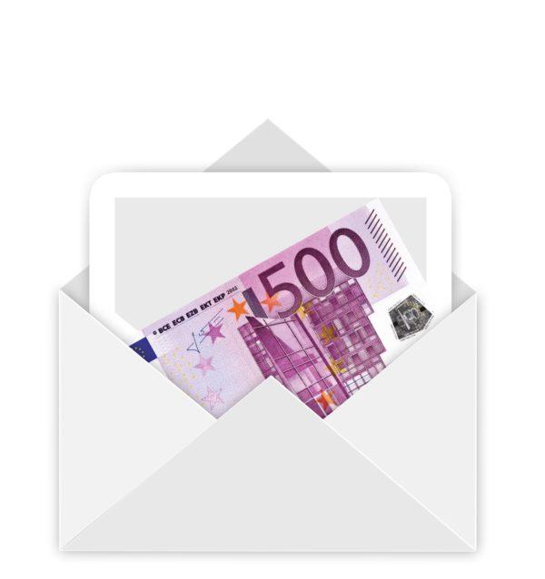 500 Euro weihnachtsgeld sind pfändungsfrei